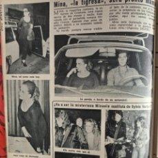Coleccionismo de Revistas y Periódicos: JOHNNY HALLYDAY MINA. Lote 257356415