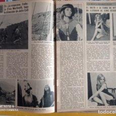 Coleccionismo de Revistas y Periódicos: ELSA MARTINELLI VITTORIA SOLINAS LA NUEVA SHARON TATE. Lote 257356430