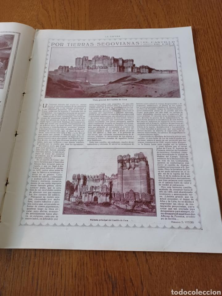 REVISTA 1914 .CASTILLO DE COCA- BENLLIURE- MONASTERIO SAN JUAN DE LA PEÑA - PALACIO DE MARCHENA (Coleccionismo - Revistas y Periódicos Antiguos (hasta 1.939))