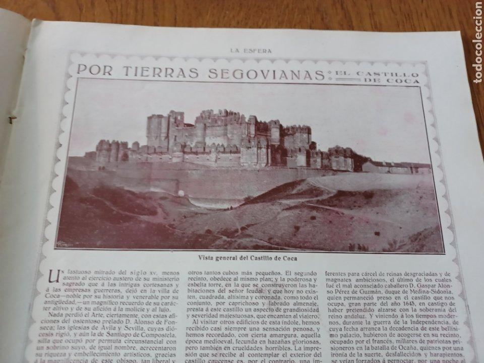 Coleccionismo de Revistas y Periódicos: REVISTA 1914 .CASTILLO DE COCA- BENLLIURE- MONASTERIO SAN JUAN DE LA PEÑA - PALACIO DE MARCHENA - Foto 2 - 257395705