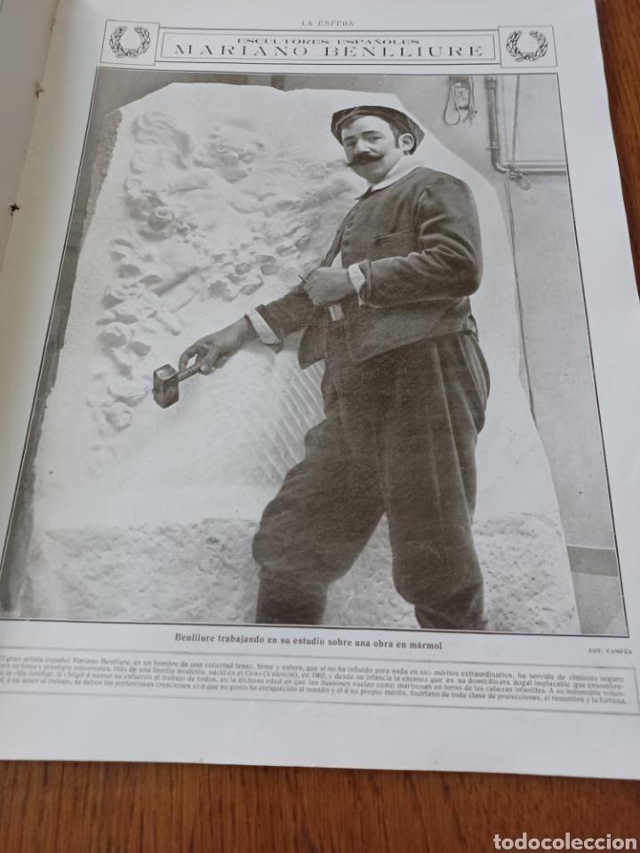 Coleccionismo de Revistas y Periódicos: REVISTA 1914 .CASTILLO DE COCA- BENLLIURE- MONASTERIO SAN JUAN DE LA PEÑA - PALACIO DE MARCHENA - Foto 4 - 257395705