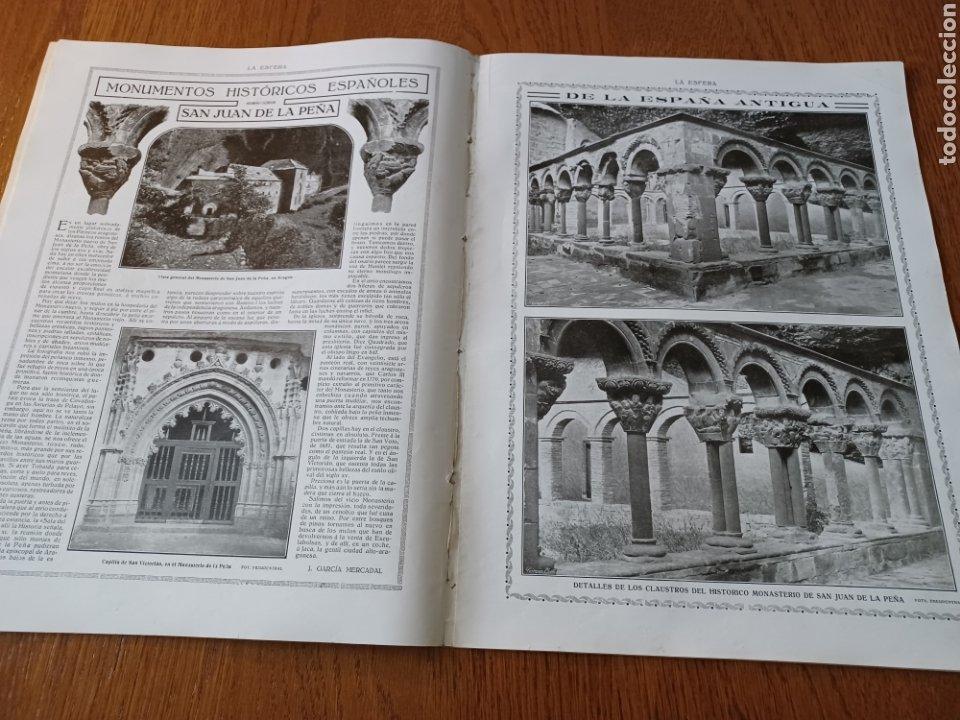 Coleccionismo de Revistas y Periódicos: REVISTA 1914 .CASTILLO DE COCA- BENLLIURE- MONASTERIO SAN JUAN DE LA PEÑA - PALACIO DE MARCHENA - Foto 8 - 257395705