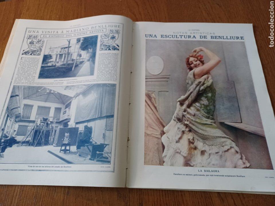 Coleccionismo de Revistas y Periódicos: REVISTA 1914 .CASTILLO DE COCA- BENLLIURE- MONASTERIO SAN JUAN DE LA PEÑA - PALACIO DE MARCHENA - Foto 5 - 257395705
