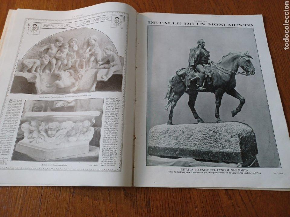 Coleccionismo de Revistas y Periódicos: REVISTA 1914 .CASTILLO DE COCA- BENLLIURE- MONASTERIO SAN JUAN DE LA PEÑA - PALACIO DE MARCHENA - Foto 6 - 257395705