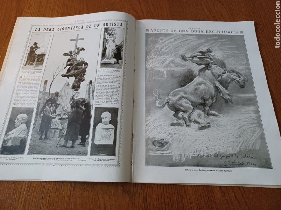 Coleccionismo de Revistas y Periódicos: REVISTA 1914 .CASTILLO DE COCA- BENLLIURE- MONASTERIO SAN JUAN DE LA PEÑA - PALACIO DE MARCHENA - Foto 7 - 257395705