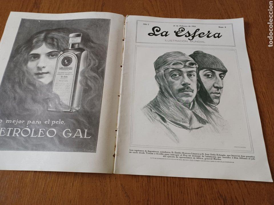 Coleccionismo de Revistas y Periódicos: REVISTA 1914. MEZQUITA DE CÓRDOBA- RETABLO IGLESIA SAN ANDRES MADRID- FÚTBOL EN INGLATERRA - Foto 6 - 257401345