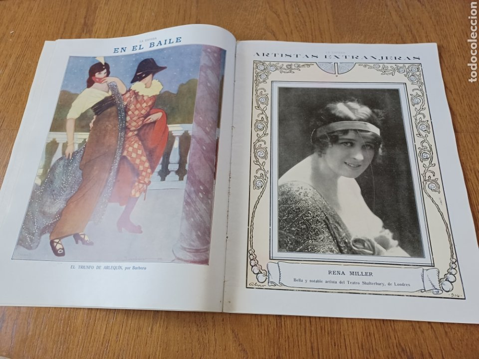 Coleccionismo de Revistas y Periódicos: REVISTA 1914. MEZQUITA DE CÓRDOBA- RETABLO IGLESIA SAN ANDRES MADRID- FÚTBOL EN INGLATERRA - Foto 9 - 257401345