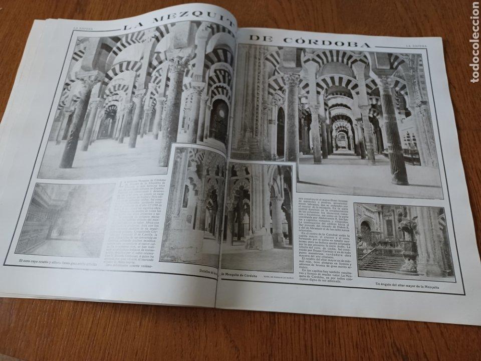 REVISTA 1914. MEZQUITA DE CÓRDOBA- RETABLO IGLESIA SAN ANDRES MADRID- FÚTBOL EN INGLATERRA (Coleccionismo - Revistas y Periódicos Antiguos (hasta 1.939))