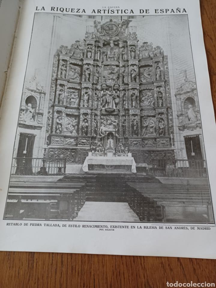 Coleccionismo de Revistas y Periódicos: REVISTA 1914. MEZQUITA DE CÓRDOBA- RETABLO IGLESIA SAN ANDRES MADRID- FÚTBOL EN INGLATERRA - Foto 2 - 257401345