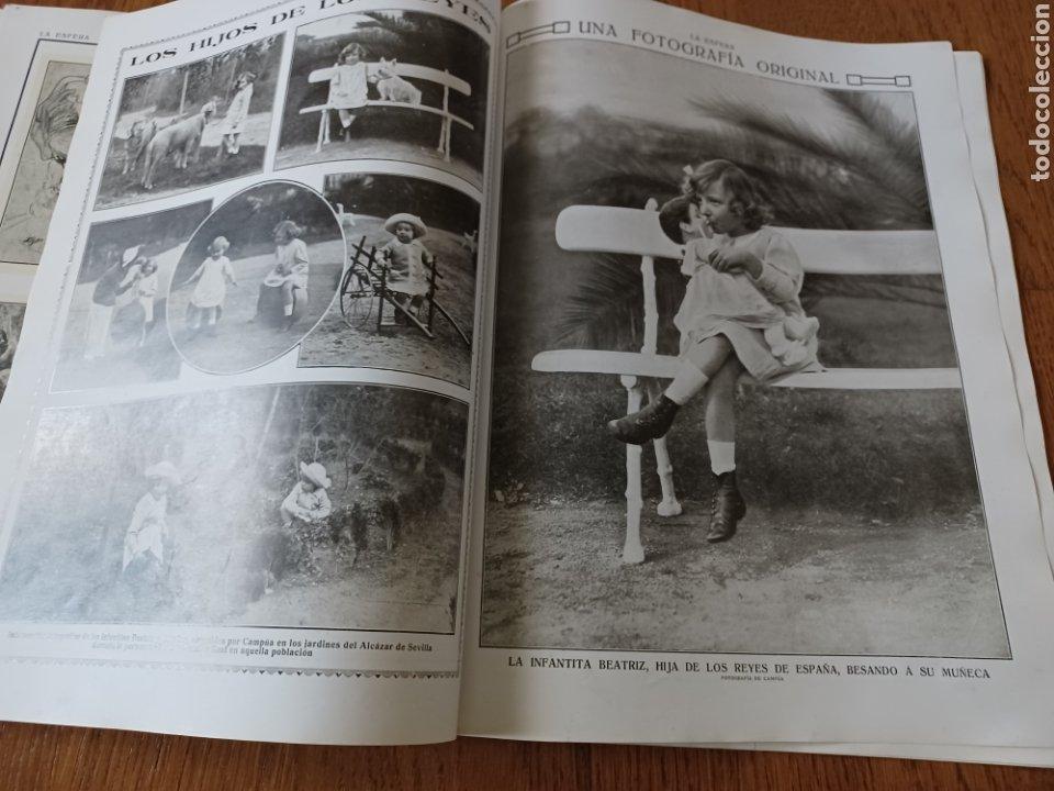Coleccionismo de Revistas y Periódicos: REVISTA 1914. MEZQUITA DE CÓRDOBA- RETABLO IGLESIA SAN ANDRES MADRID- FÚTBOL EN INGLATERRA - Foto 7 - 257401345