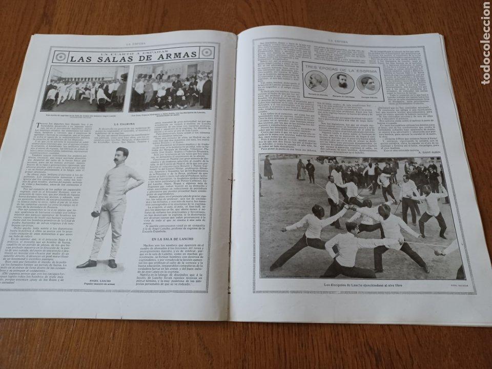 Coleccionismo de Revistas y Periódicos: REVISTA 1914. MEZQUITA DE CÓRDOBA- RETABLO IGLESIA SAN ANDRES MADRID- FÚTBOL EN INGLATERRA - Foto 4 - 257401345