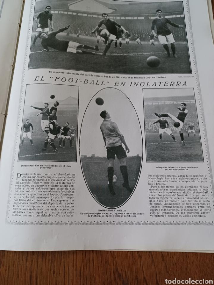 Coleccionismo de Revistas y Periódicos: REVISTA 1914. MEZQUITA DE CÓRDOBA- RETABLO IGLESIA SAN ANDRES MADRID- FÚTBOL EN INGLATERRA - Foto 3 - 257401345
