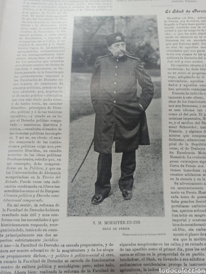 Coleccionismo de Revistas y Periódicos: REVISTA POLITICA Y PARLAMENTARIA. Director Gabriel Ricardo España, 32 números, casi completa. - Foto 21 - 257472870