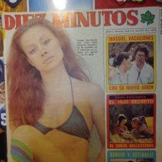 Coleccionismo de Revistas y Periódicos: PORTADA DE PALOMA SAN BASILIO RECORTE. Lote 257556790
