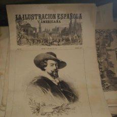 Coleccionismo de Revistas y Periódicos: LA ILUSTRACION ESPAÑOLA Y AMERICANA PEDRO PABLO RUBENS. Lote 257604400