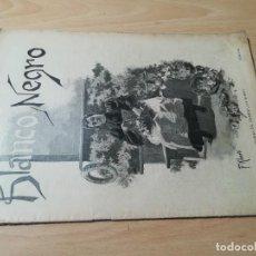Coleccionismo de Revistas y Periódicos: BLANCO Y NEGRO / REVISTA ILUSTRADA, VER FOTOS / 213 JUNIO / 1895. Lote 257686890