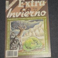 Coleccionismo de Revistas y Periódicos: REVISTA DE CRUCIGRAMAS EXTRA DE INVIERNO EDITA EDIGRAMA AÑO 1988. Lote 257693065