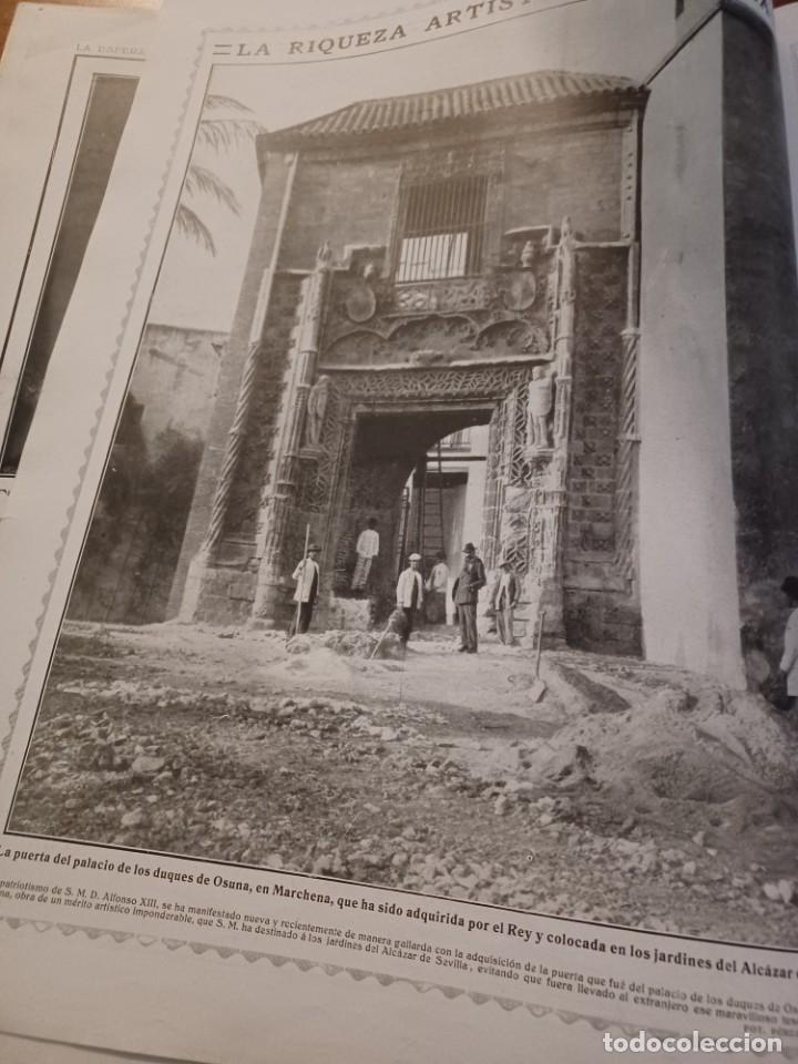 Coleccionismo de Revistas y Periódicos: REVISTA 1914 .CASTILLO DE COCA- BENLLIURE- MONASTERIO SAN JUAN DE LA PEÑA - PALACIO DE MARCHENA - Foto 12 - 257395705