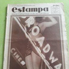 Coleccionismo de Revistas y Periódicos: ESTAMPA Nº 258 17 DICIEMBRE 1932 - BARCELONA - PIO BAROJA - HIJO DE ZAR - GARY COOPER - RELOJ DE SOL. Lote 257796675