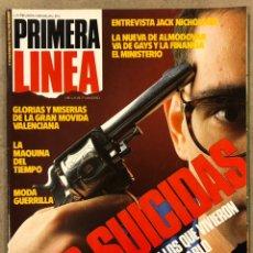 Coleccionismo de Revistas y Periódicos: PRIMERA LÍNEA N° 19 (1986). PEDRO ALMODÓVAR, MOVIDA VALENCIANA, JACK NICHOLSON,..,. Lote 257832610