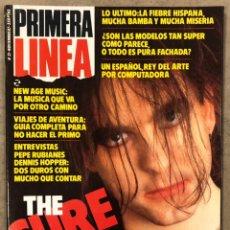 Coleccionismo de Revistas y Periódicos: PRIMERA LÍNEA N° 31 (1987). THE CURE, PEPE RUBIANES, MONTXO ALGORA, MOVIDA BILBAO, ALASKA. Lote 257842165