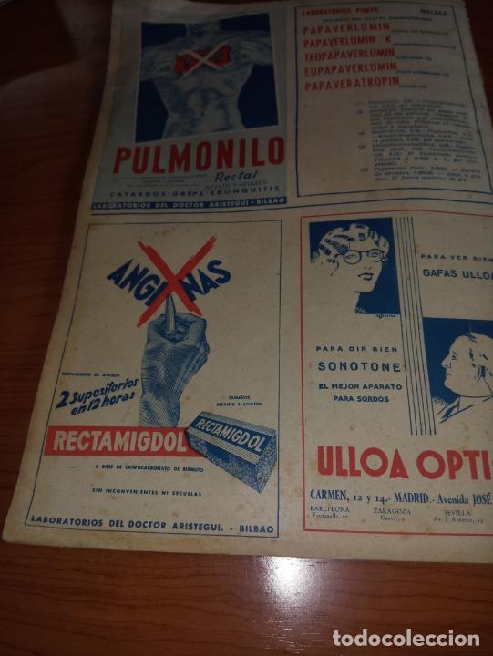 Coleccionismo de Revistas y Periódicos: GACETA MEDICA ESPAÑOLA FEBRERO 1953 AÑO XXVII Nº2 - Foto 6 - 258150155