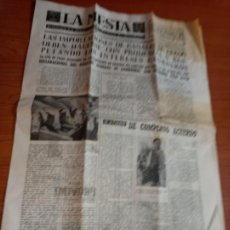 Coleccionismo de Revistas y Periódicos: LA MESTA SEMANARIO DEL SINDICATO VERTICAL DE GANADERIA DE 23-02-1963. Lote 258153235
