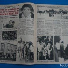 Coleccionismo de Revistas y Periódicos: RECORTE CLIPPING DE MIGUEL RIOS SEMANA Nº 2225 PAG. 34-35 L40. Lote 258965200