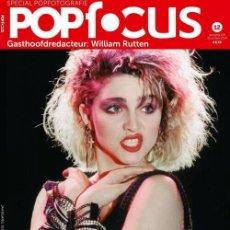 Coleccionismo de Revistas y Periódicos: MADONNA REVISTA POP FOCUS NUEVA MUY RARA. Lote 258968755