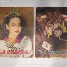 Coleccionismo de Revistas y Periódicos: LOTE 2 REVISTAS LA CHACRA 1949. Lote 259002340