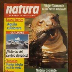 Coleccionismo de Revistas y Periódicos: NATURA N° 119. NUTRIA GIGANTE, LA REINA DEL AMAZONAS.. Lote 259245225