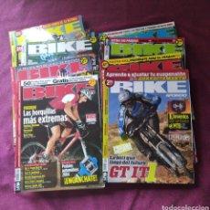 Coleccionismo de Revistas y Periódicos: LOTE 19 REVISTAS BIKE A FONDO DEPORTE CICLISMO. Lote 259329395