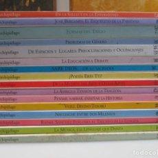 Collectionnisme de Revues et Journaux: ARCHIPIÉLAGO CUADERNOS DE CRÍTICA DE LA CULTURA ( 17 TOMOS SUELTOS) W6843. Lote 259832360