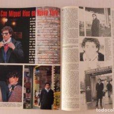 Coleccionismo de Revistas y Periódicos: RECORTE CLIPPING DE MIGUEL RIOS REVISTA SEMANA Nº 2253 PAG. 106 AL 108 L37. Lote 259872815