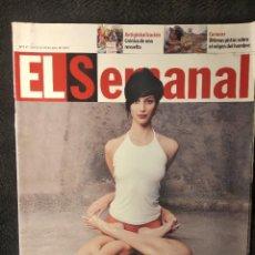 Coleccionismo de Revistas y Periódicos: EL SEMANAL #717 EL PODER DEL YOGA/2001. Lote 259926295