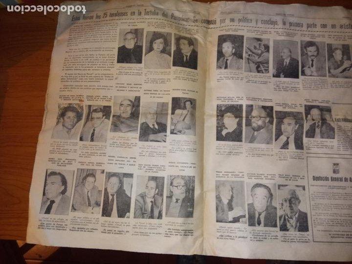 Coleccionismo de Revistas y Periódicos: DIARIO DE TERUEL 8 DE OCTUBRE DE 1986 - Foto 4 - 260428795