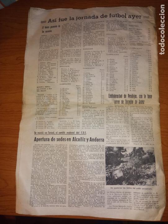 Coleccionismo de Revistas y Periódicos: DIARIO DE TERUEL 8 DE OCTUBRE DE 1986 - Foto 7 - 260428795