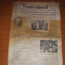 Coleccionismo de Revistas y Periódicos: DIARIO DE TERUEL 8 DE OCTUBRE DE 1986. Lote 260428795