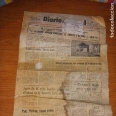 Coleccionismo de Revistas y Periódicos: DIARIO DE TERUEL 14 DE ENERO DE 1986. Lote 260429000