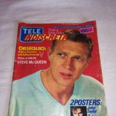 Coleccionismo de Revistas y Periódicos: REVISTA TELE INDISCRETA AÑO 2 Nº 12 - CONTIENE COLECCIONABLE SERIE V - TELEINDISCRETA -. Lote 260680495