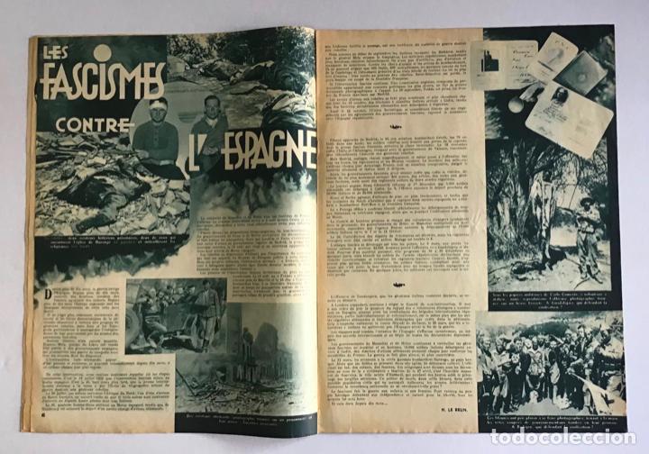 Coleccionismo de Revistas y Periódicos: LA RUSSIE DAUJOURDHUI, 1er Juin 1937, n.º 59. LU.R.S.S. ET LESPAGNE. - [Revista. Guerra Civil.] - Foto 3 - 260807190
