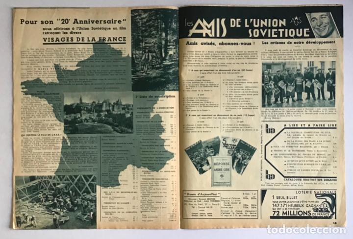 Coleccionismo de Revistas y Periódicos: LA RUSSIE DAUJOURDHUI, 1er Juin 1937, n.º 59. LU.R.S.S. ET LESPAGNE. - [Revista. Guerra Civil.] - Foto 4 - 260807190