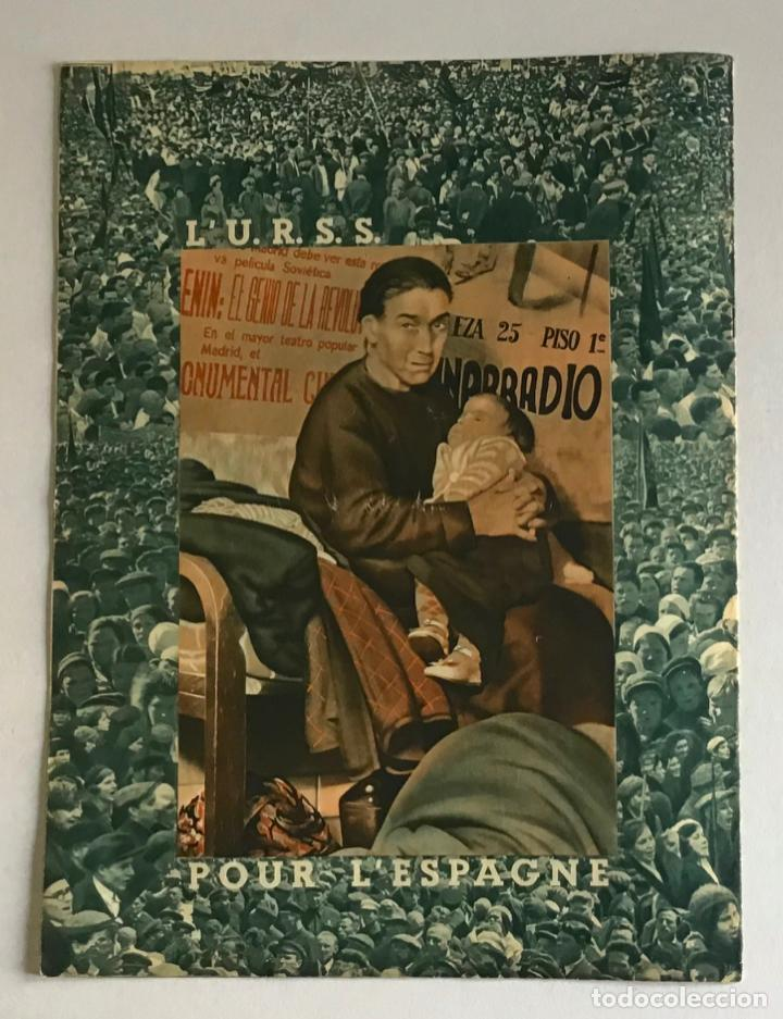 Coleccionismo de Revistas y Periódicos: LA RUSSIE DAUJOURDHUI, 1er Juin 1937, n.º 59. LU.R.S.S. ET LESPAGNE. - [Revista. Guerra Civil.] - Foto 6 - 260807190