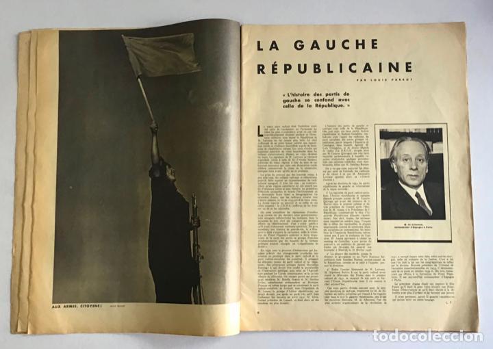 Coleccionismo de Revistas y Periódicos: VU EN ESPAGNE. LA DÉFENSE DE LA RÉPUBLIQUE. Número spécial. Samedi 29 aout 1936. Guerra Civil - Foto 3 - 260807505