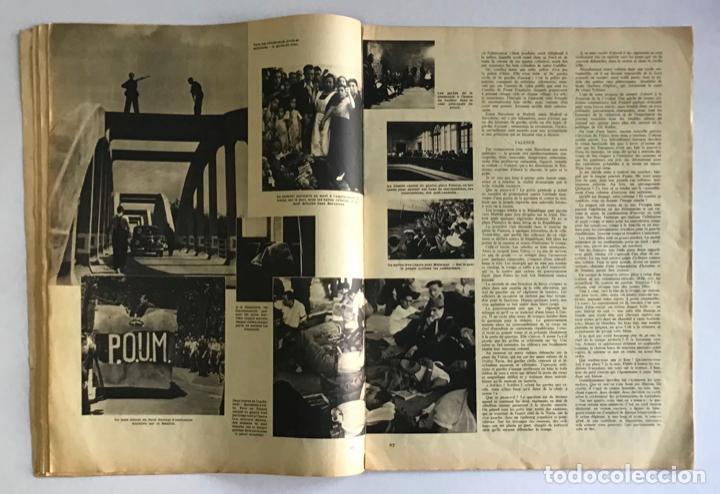 Coleccionismo de Revistas y Periódicos: VU EN ESPAGNE. LA DÉFENSE DE LA RÉPUBLIQUE. Número spécial. Samedi 29 aout 1936. Guerra Civil - Foto 5 - 260807505