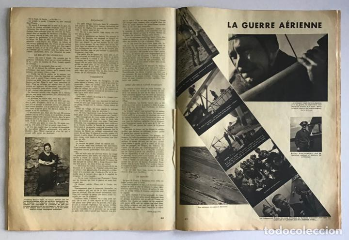 Coleccionismo de Revistas y Periódicos: VU EN ESPAGNE. LA DÉFENSE DE LA RÉPUBLIQUE. Número spécial. Samedi 29 aout 1936. Guerra Civil - Foto 7 - 260807505