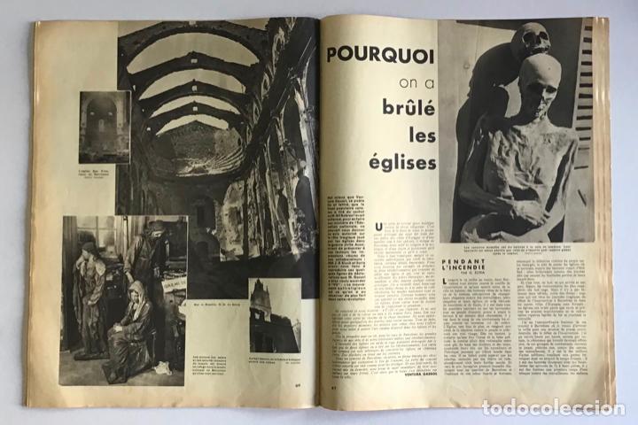 Coleccionismo de Revistas y Periódicos: VU EN ESPAGNE. LA DÉFENSE DE LA RÉPUBLIQUE. Número spécial. Samedi 29 aout 1936. Guerra Civil - Foto 9 - 260807505