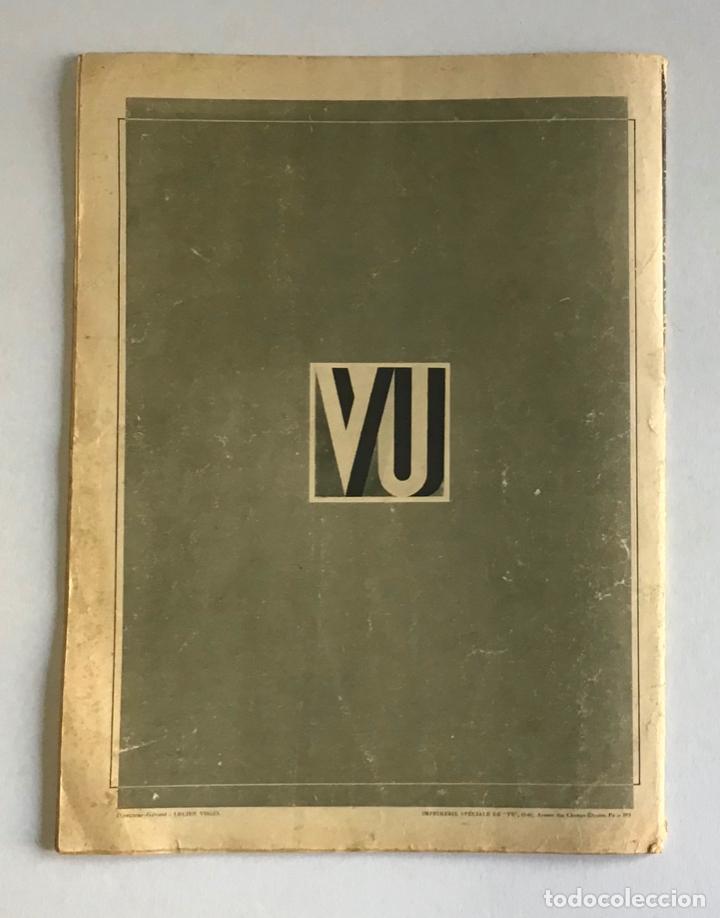 Coleccionismo de Revistas y Periódicos: VU EN ESPAGNE. LA DÉFENSE DE LA RÉPUBLIQUE. Número spécial. Samedi 29 aout 1936. Guerra Civil - Foto 12 - 260807505