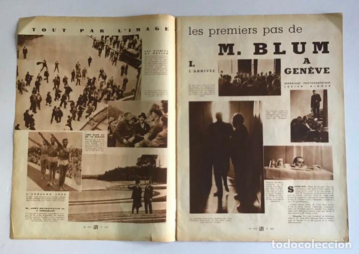 Coleccionismo de Revistas y Periódicos: VU. A LA DÉCOUVERTE DUN PAYS RESSUCITÉ. CATALOGNE. 9 anné, n.º 434. 8 julliet 1936. Guerra Civil - Foto 2 - 260808025