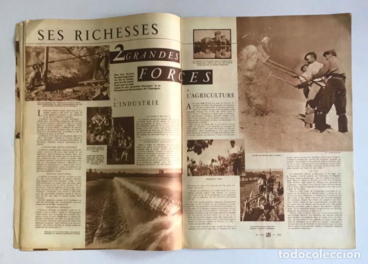 Coleccionismo de Revistas y Periódicos: VU. A LA DÉCOUVERTE DUN PAYS RESSUCITÉ. CATALOGNE. 9 anné, n.º 434. 8 julliet 1936. Guerra Civil - Foto 5 - 260808025
